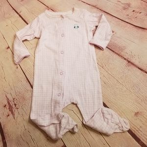 Carter's owl footed pajamas 6 months